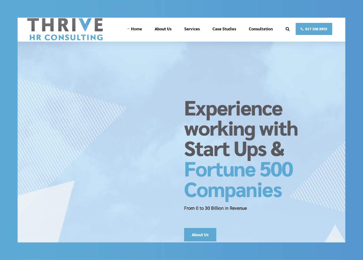 thrive website 1